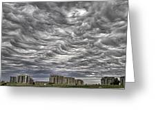 Markham Clouds Greeting Card