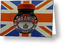 Marmite The Growing Up Spread Greeting Card