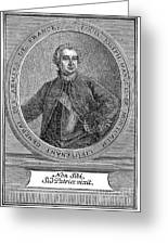 Marquis De Montcalm Greeting Card