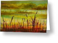 Marsh View Greeting Card