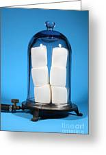 Marshmallows In A Vacuum, 5 Of 5 Greeting Card