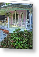 Marthas Vineyard Cottage Greeting Card