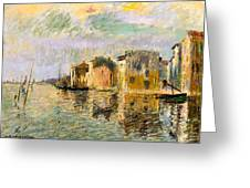 Martigues In The South Of France Greeting Card