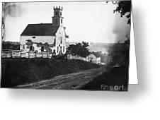 Maryland: Church, 1862 Greeting Card