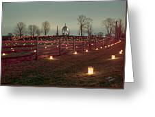Maryland Monument 2 - 11 Greeting Card