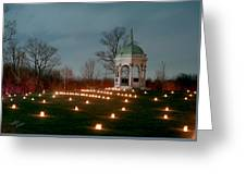 Maryland Monument 3 - 11 Greeting Card