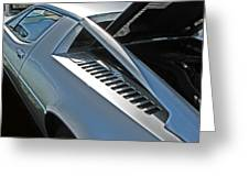 Maserati Merak Detail Greeting Card by Samuel Sheats