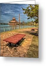 Masjid Putra Greeting Card