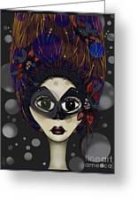 Masquerade Greeting Card