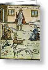 Matthew Hopkins (d. 1647) Greeting Card