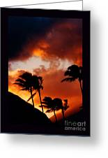 Maui Breeze Greeting Card