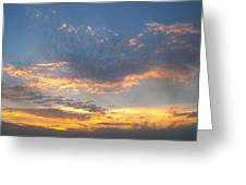 Max Parrish Sky Greeting Card