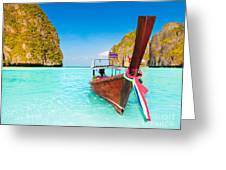 Maya Bay Greeting Card