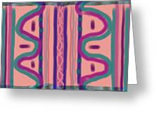 Maya Greeting Card by Rosana Ortiz