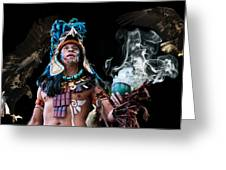 Mayan Spirit Greeting Card