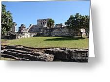 Mayan Temple Greeting Card
