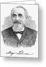 Mayer Lehman (1830-1897) Greeting Card