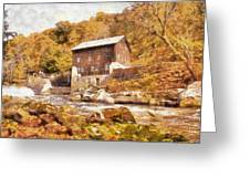 Mcconnell's Mill Greeting Card