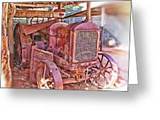 Mccormack Deering Tractor  Greeting Card