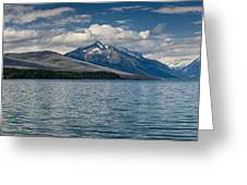 Mcdonald Lake Super Panorama Greeting Card