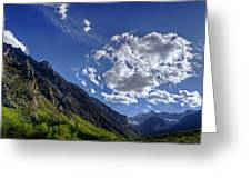 Mcgee Creek Canyon Greeting Card