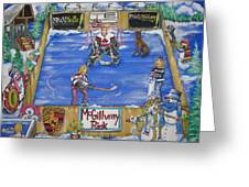 Mcgillvray Rink Greeting Card