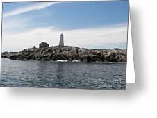 Mcnutt's Island Lighthouse Greeting Card