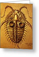 Mecha-trilobite 3 Greeting Card