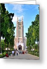 Medak Church Greeting Card