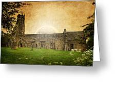 Medieval Church Greeting Card