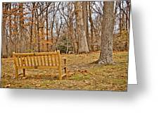 Meditation At Valley Forge Greeting Card