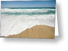 Mediterranean Shore Greeting Card