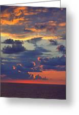 Mediterranean Sky Greeting Card