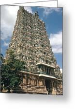 Meenakshi Temple Greeting Card