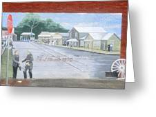 Meeting At Fort Meade Greeting Card