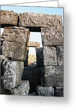 Megalithic Gateway Greeting Card