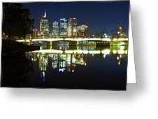 Melbourne Lights Greeting Card