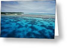 Meldives Paradise Greeting Card