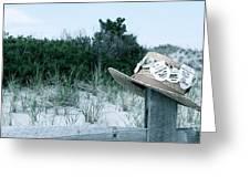 Memories Of Sea Isle Greeting Card