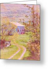 Memories Of The Farm Greeting Card