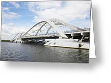 Memphis Arkansas Bridge, Netherlands Greeting Card