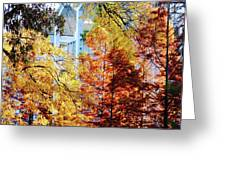 Memphis College Of Art Overton Park Memphis Tn Greeting Card