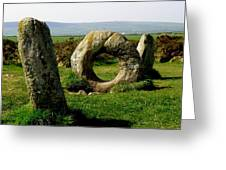 Men An Tol Greeting Card