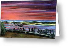 Menemsha Sunset Greeting Card