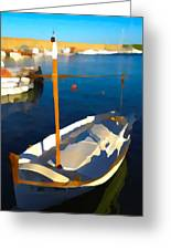 Menorcan Fishing Boat 2 Greeting Card