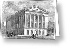 Mercantile Library, C1830 Greeting Card