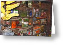 Mercantile Shop Greeting Card