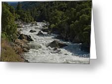 Merced River In Yosemite Greeting Card by Tim Mulina