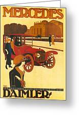 Mercedes Daimler Greeting Card