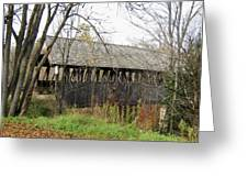 Meriden Covered Bridge Greeting Card